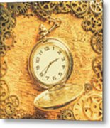 Invention Of Time Metal Print