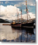 Inverarray Harbor Metal Print