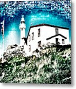 Inverted Lighthouse  Metal Print