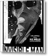 Invisible Man Movie Poster 1933 Metal Print