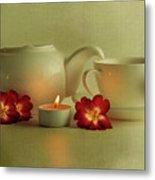 Invitation To Tea Metal Print