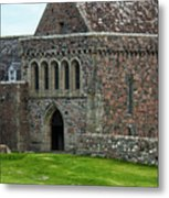 Iona Abbey Metal Print
