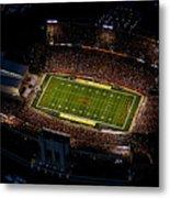 Iowa State Jack Trice Stadium Aerial  Metal Print by Iowa State