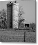 Iowa Towers 1 Metal Print