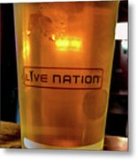 Ipa Beer In Live Nation Cup At Shoreline Amphitheatre During Dead And Company Metal Print