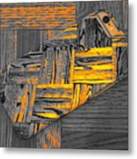 iPhone 6s as Art bwy Metal Print