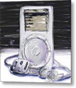iPod Metal Print by Russell Pierce