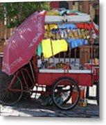 Iquique Chile Street Cart Metal Print