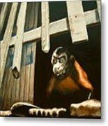 Iquitos Monkey Metal Print