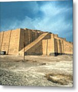 Iraq: Ziggurat In Ur Metal Print