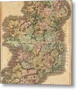 Ireland 1831 Metal Print