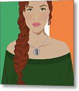 Ireland Metal Print by Nancy Levan