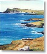 Ireland Sea Metal Print