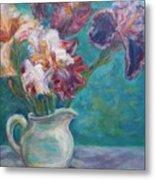 Iris Medley - Original Impressionist Painting Metal Print