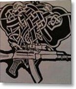 Irish Ak-74 Metal Print