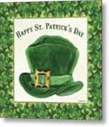 Irish Cap Metal Print