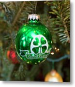 Irish Christmas Metal Print