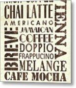 Irish Coffee Metal Print