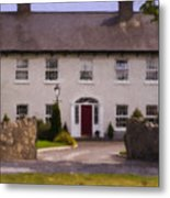 Irish Country Estate Riverstown Ireland Metal Print