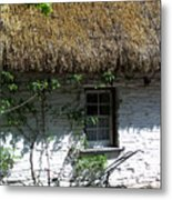 Irish Farm Cottage Window County Cork Ireland Metal Print