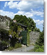 Irish Garden County Clare Metal Print