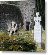 Irish Graves Metal Print