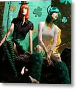 Irish Lovers Metal Print