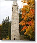 Irish Round Tower Metal Print
