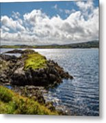Irish Shore Metal Print