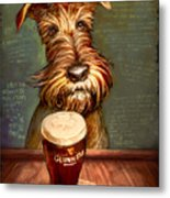 Irish Toast Metal Print
