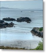 Irish Tidal Pool Metal Print