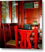 Irish Times Pub Metal Print