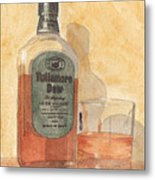 Irish Whiskey Metal Print