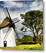 Irish Windmill Metal Print