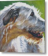 Irish Wolfhound Beauty Metal Print
