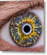 iRobot Eye v2.o Metal Print