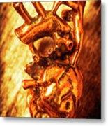 Iron Arteries  Metal Print
