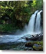 Iron Cross Falls Metal Print