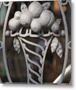 Iron Fruit Metal Print