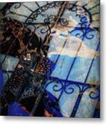 Iron Gate Abstract Metal Print
