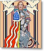 Iron Queen Metal Print