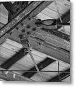 Iron Roof Metal Print