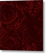 Irridescent Red Metal Print