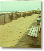 Is This A Beach Day - Jersey Shore Metal Print