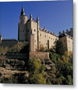 Isabella's Castle In Segovia Metal Print