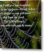 Isaiah Scripture  Metal Print