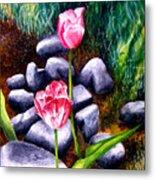 Isaiah's Tulips Metal Print