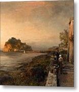 Ischia With A View Of Castello Aragonese Metal Print
