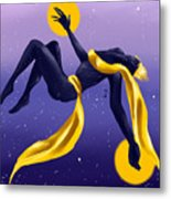Ishtar Embraced By The Void Metal Print
