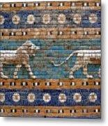 Ishtar Gate Metal Print